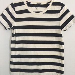 J. Crew Women's Striped T-shirt XS